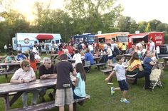 Cuisine convoy: Saratoga's first Food Truck Rodeo a hit (photos and video) Photo: ED BURKE