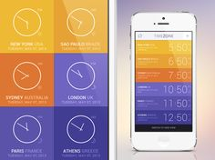 Zone app concept