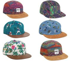 "Only NY 5 panel caps – ""Vintage Series"" (Spring 2013)"