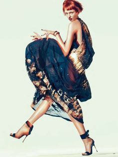 """The Golden Twenties"" vogue germany"