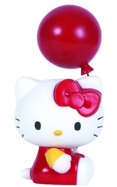 Precious Moments Hello Kitty with Balloon Figurine