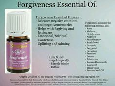Forgiveness Young Living