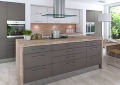 Modern Kitchens | Stylish modern kitchens inspired by German kitchen design.