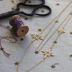 Double Orion Necklace by Shlomit Ofir