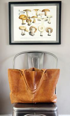 Gorgeous leather bag.