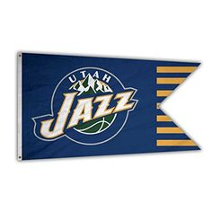 NBA Utah Jazz Basketball Team Logo Flag Banner Indoor/Outdoor 35.4x60.2 Inches