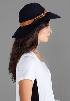Lana Hat in Midnight