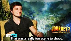 Okay, I've been trying for hours but it's IMPOSSIBLE to link this video to Pinterest SSSSSOOOOOO....I'm pinning this so that everyone can go onto breadinhotchocolate.tumblr.com and see the latest video of Josh talking about the Hunger Games. He mentions how he isn't on FB or Twitter and that he thinks everyone should think up a strategy for their own Games. Check it out! It's so cute!
