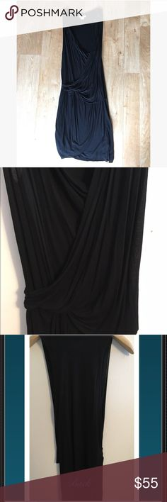 Helmut Lang black, sleeveless, draped dress Helmut Lang black, draped, sleeveless dress. Size Small. Like new (given to me NWT as a gift. I removed the tags and tried it on but it is too small for me ..I'm closer to a medium.. It's been in my closet ever since. I've been saving it because I love the Helmut Lang and the way this dress is beautifully draped but now it's time for this dress to find a new home ). Helmut Lang Dresses