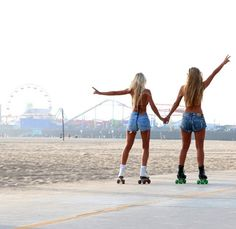 St Monica  #summer #friendship #rollin #lifestyle #fun #love
