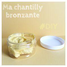 Ma chantilly bronzante #DIY