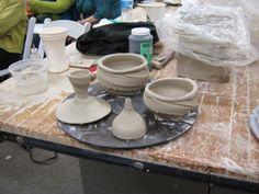 meesh's pottery: Workshop weekend in the big city of Charlotte