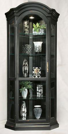 Panorama Corner Display Cabinet - Black   Philip Reinisch   Home Gallery  Stores
