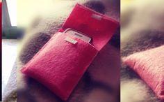 Mini bolsa em feltro