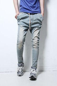 Harem Style Hot Sale Casual Men's Jeans M/L/XL/XXL @S5K33-1