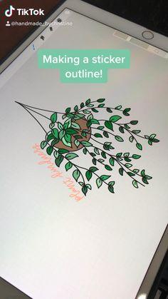 Digital Painting Tutorials, Digital Art Tutorial, Art Tutorials, Digital Art Beginner, Ipad Hacks, Hand Lettering Tutorial, Pretty Drawings, Ipad Art, Graphic Design Tutorials