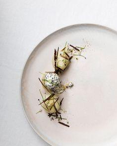 Food presentation by Linda Lundgren - #assiette #culinaire #art #food #foodporn #gastronomy #gastronomie #culinary #foodart #gourmet #gourmand #museumviews #hautecuisine #fooddesign #finedining