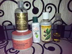 SunKissAlba (curly hair products)