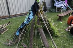Man Vs. Wild Party - The Build Your Own Shelter Challenge