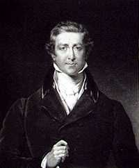 Robert Peel (1788-1850)  Twice Prime Minister and responsible for the repeal of the Corn Laws~23rd Great-Grandfather