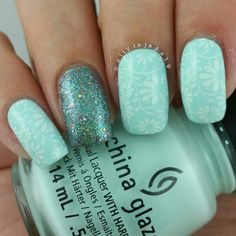 Polishes: CG At Vase Value and Optical Illusion Stamping design: Bundle Monster
