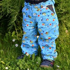 Dětské kalhoty s kapsami