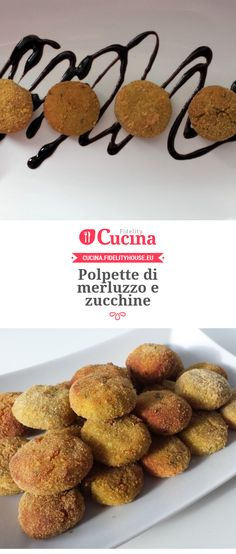 Polpette di merluzzo e zucchine