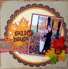 Fall Hugs - Scrapbook.com