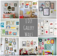 Great Galleries Feature (DIY Gallery Walls) | Southern Belle Soul, Mountain Bride Heart