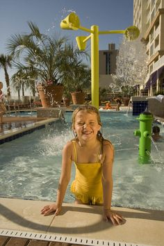 Splash the day away in our oceanfront children's pool at Ocean Beach Club and Oceanaire. Virginia Beach Resorts, Beach Club Resort, Baby Pool, Ocean Beach, Hotels And Resorts, Pools, Vacation, Luxury, Kiddy Pool
