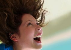 Photo about Happy girl screaming. Image of carefree, enjoy, expression - 252061