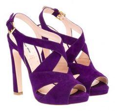 miu miu shoes....love purple!