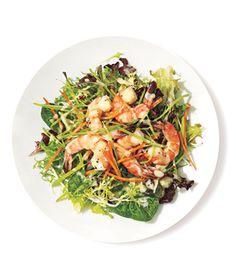 Shrimp Salad With Miso Dressing Recipe