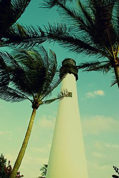 Lighthouse on Key Biscayne  Miami, FL