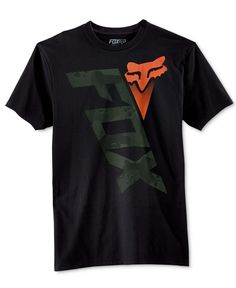 For all-day comfort and a great look to match, go for this Fox Blaster logo-graphic T-shirt. Fox Racing Clothing, Men's Clothing, Buy T Shirts Online, Fox Man, T Shorts, Printed Shirts, Men's Shirts, Sweater Shirt, Shirt Designs