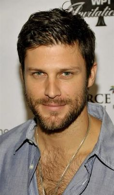 Greg Vaughan You are in the right place about hairy chest chris evans Here we offer you the most bea Hairy Hunks, Hairy Men, Bearded Men, Hot Men, Hot Guys, Beautiful Men Faces, Gorgeous Men, Greg Vaughan, Scruffy Men