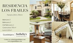 Residencia Los Frailes | Zapopan, Jalisco | Sotheby's International Realty Mexico #realestate #mexico