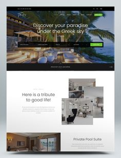 Hotel and Resort Booking HTML Template Bootstrap Template, Html Website Templates, Room Reservation, Paradise Hotel, Adult Children, Thalia, Private Pool, Hostel, Hotels And Resorts