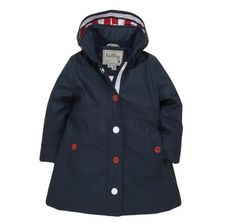 Hatley Classic Navy Waterproof Raincoat at Wellies and Worms- For Ivy