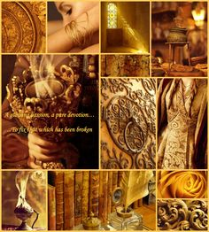 """Tribute to the Yellow Ajah of the White Tower: """"A glowing passion, a pure devotion…To fix that which has been broken."""" The Yellow Ajah of the Aes Sedai primarily studies Healing. The leader of the Yellow Ajah is called the First Weaver."""