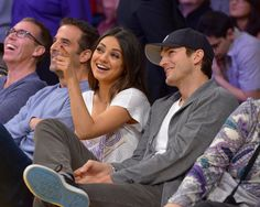 It's March Madness — See Stars Sitting Courtside at Basketball Games | Mils Kunis, Ashton Kutcher & more!
