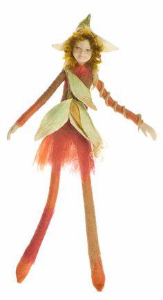 Bendable Petal Fairies Harvesting Corn Elf
