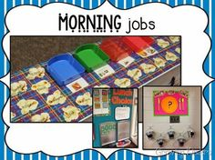 Morning Jobs  Lunch Count, etc