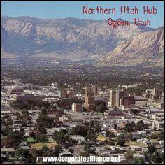 Northern Utah Corporate Alliance Hub located in Ogden, Utah.