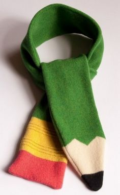 Scarf- would be cute to wear when conferencing during writers workshop so kids know not to interrupt