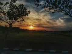 Sunset @ Kendari Airport