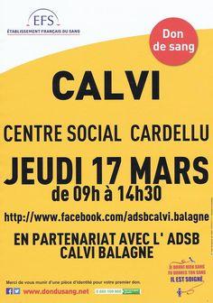 Don Du Sang ADSB Calvi Balagne