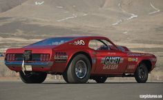 1969 Ford Mustang Mr. Gasket Gasser