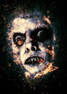 pazuzu exorcist horror movie fury face halloween
