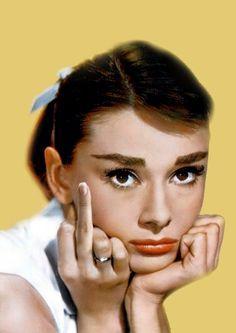 Fuckyou Hepburn..